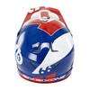 SixSixOne Rage kypärä , sininen/valkoinen